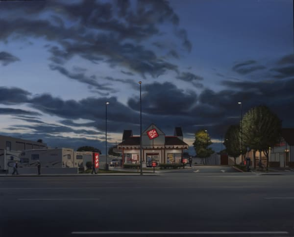 6351 Sepulveda Boulevard, 38X47 oil on polyester o