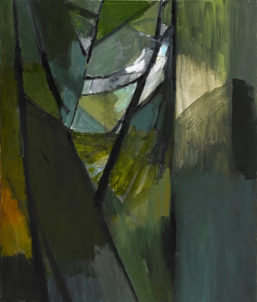 Understory, oil on canvas, 24 x 20 inches for jpeg