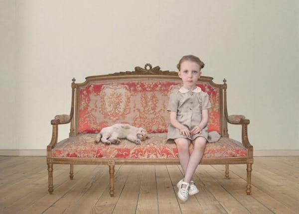 Loretta Lux, The Waiting Girl, 2006, Ilfochrome Pr
