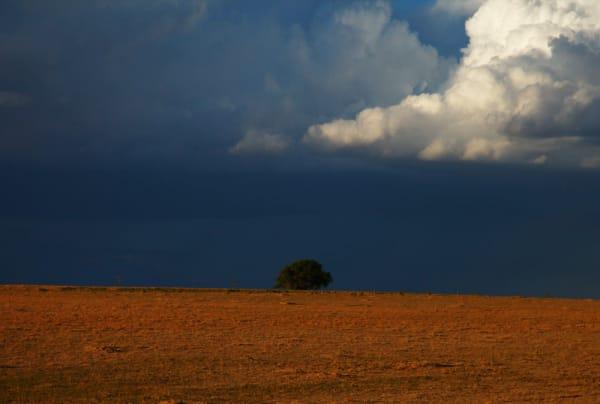 Colorado Prairie. This dramatic landscape was made