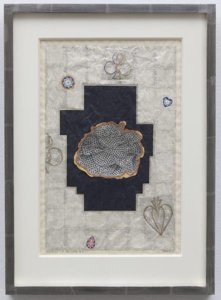 Tom Wudl Mandala of Oblivion #1, 2012 pencil, acry