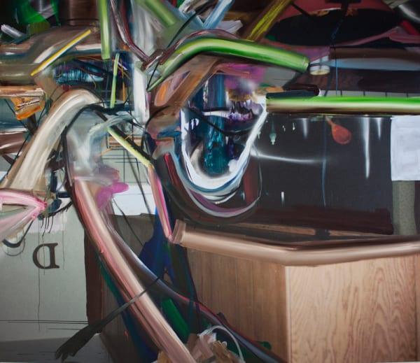 Make Light Work of Heavy Loads, 2012, acrylic, spr