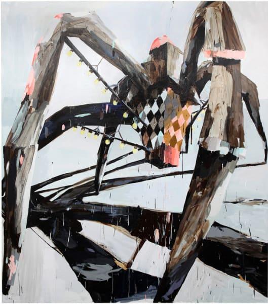 Spider, 290x210 cm acrylic on canvas,, 2013