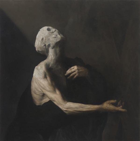 L'Occhio Occidentale, 2013, oil on copper, 39 x 39