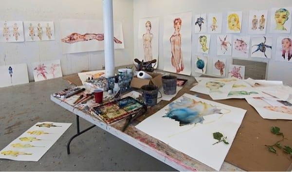studio shot, LA 2012