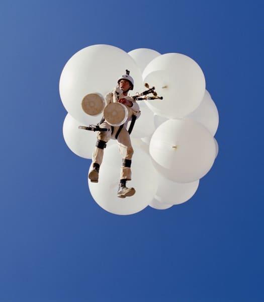 """Untitled"", 2002.  Lightjet print mounted on a"