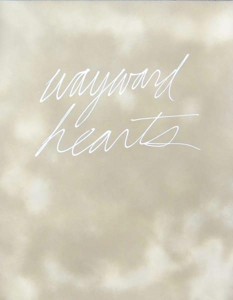 wayward hearts, 2013, 24 ½ x 19 inches, enamel on