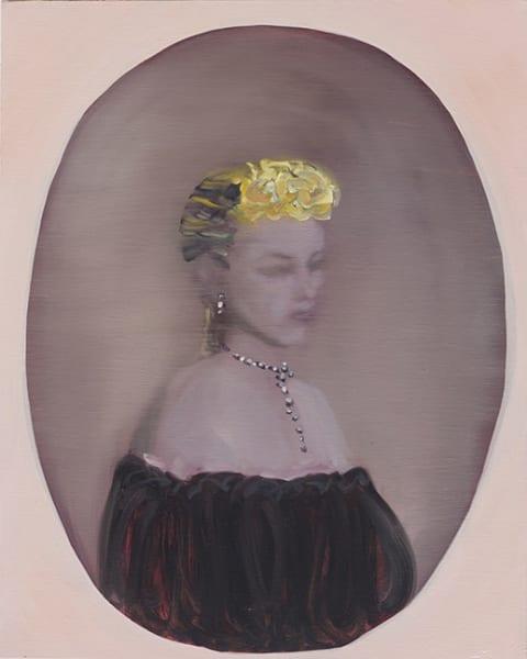 Portrait of Layla 20 x 16 in. Oil on LInen 2014. F
