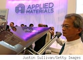 Applied Materials announced it will stop selling its SunFab line of equipment to make amorphous-silicon solar panels.