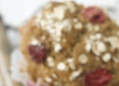 Recipe: Raspberry Oat Muffins