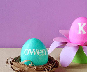 Easter Craft: Egg Holders