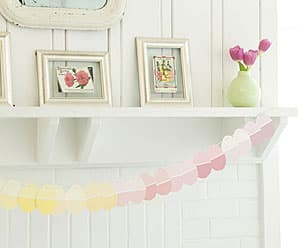 How to Make Paint Chip Easter Egg Garland