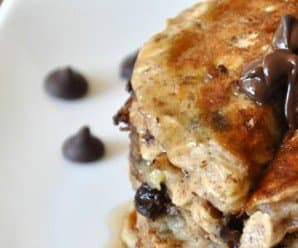 Recipe: Chocolate Chip Oatmeal Cookie Pancakes