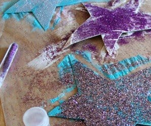 Craft for the Kids: Glitter Stars