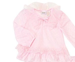 Truly Scrumptious Girls' Playette 3 Piece Ruffle PJ Set