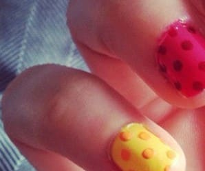 Manicure Monday: DIY Polka Dot Nails