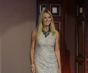 Sparkly Number for Jay Leno