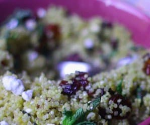 Recipe: Sexy Mint and Cranberry Quinoa Salad