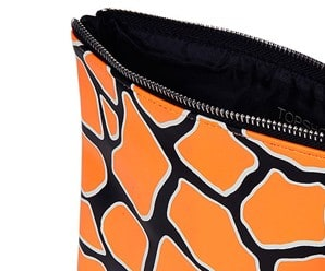 Giraffe Print Makeup Bag