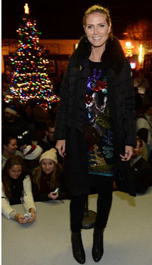 Look of the Day: Tree Lighting Attire!