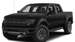 (SVT Raptor) 4x4 SuperCrew Cab Styleside 5.5 ft. box 145 in. WB