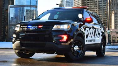 Ford Explorer police car