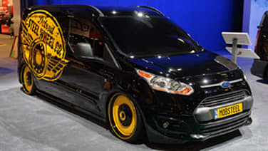 ford transit connect customs sema 2013