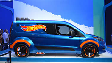 ford transit connect hot wheels sema 2013