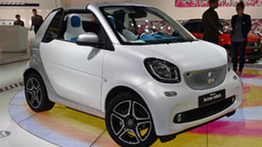 Ouch that smarts  2017 Smart Fortwo Electric Drive Cabrio First
