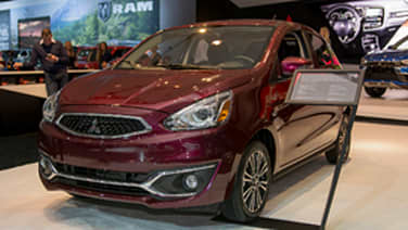 2017 Mitsubishi Mirage gets updated styling and equipment ...