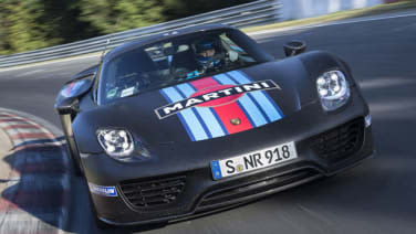 porsche 918 spyder could lap the ring even quicker wvideo