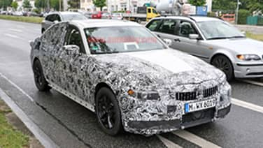 BMW 5 Series Touring spotted with even less camo - Autoblog