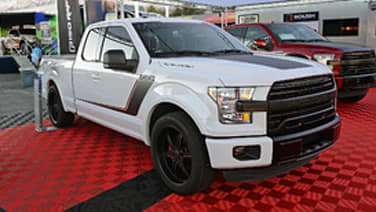 ford teases four radicially different f 150 trucks for sema autoblog. Black Bedroom Furniture Sets. Home Design Ideas