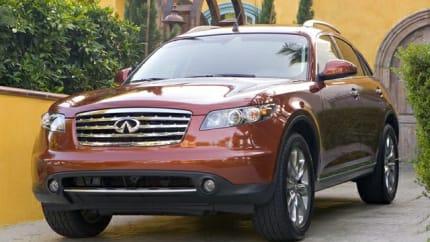 2008 INFINITI FX45 - 4dr All-wheel Drive (Base)
