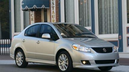 2013 Suzuki SX4 - 4dr Front-wheel Drive Sedan (LE)