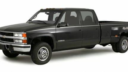 2000 Chevrolet K3500 - 4x4 Regular Cab 131.5 in. WB HD (Base)