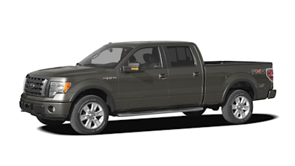 2009 Ford F-150 SuperCrew - 4x2 Styleside 5.5 ft. box 145 in. WB (XLT)
