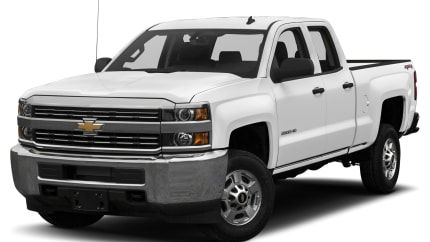 2017 Chevrolet Silverado 2500HD - 4x2 Double Cab 6.6 ft. box 144.2 in. WB (LT)