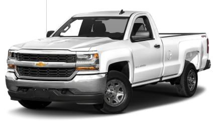 2018 Chevrolet Silverado 1500 - 4x2 Regular Cab 6.6 ft. box 119 in. WB (LS)
