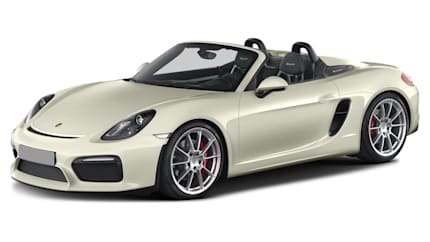 2016 Porsche Boxster - 2dr Rear-wheel Drive Convertible (Spyder)