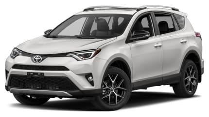 2017 Toyota RAV4 - 4dr Front-wheel Drive (SE)