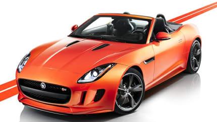 2017 Jaguar F-TYPE - 2dr Rear-wheel Drive Convertible (Base)