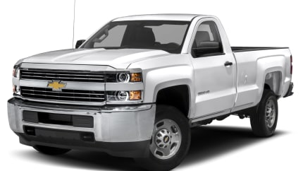2017 Chevrolet Silverado 2500HD - 4x2 Regular Cab 8 ft. box 133.6 in. WB (LT)