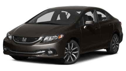 2015 Honda Civic - 4dr Sedan (EX-L)