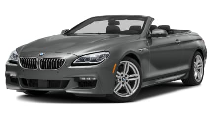 2017 BMW 640 - 2dr Rear-wheel Drive Convertible (i)