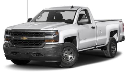 2017 Chevrolet Silverado 1500 - 4x2 Regular Cab 6.6 ft. box 119 in. WB (LS)