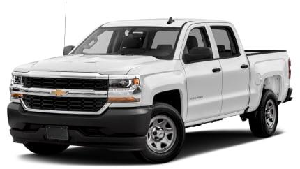 2017 Chevrolet Silverado 1500 - 4x2 Crew Cab 5.75 ft. box 143.5 in. WB (WT)