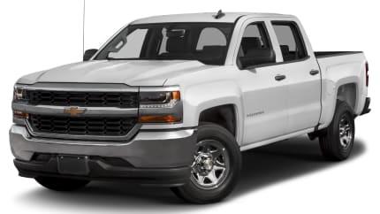 2017 Chevrolet Silverado 1500 - 4x2 Crew Cab 5.75 ft. box 143.5 in. WB (LS)