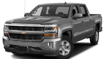 2017 Chevrolet Silverado 1500 - 4x2 Crew Cab 5.75 ft. box 143.5 in. WB (LT w/1LT)