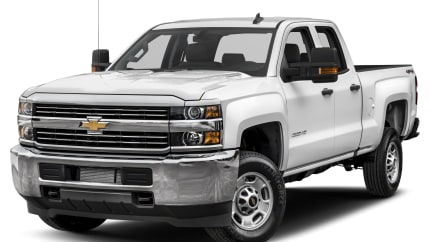 2017 Chevrolet Silverado 2500HD - 4x2 Double Cab 8 ft. box 158.1 in. WB (WT)